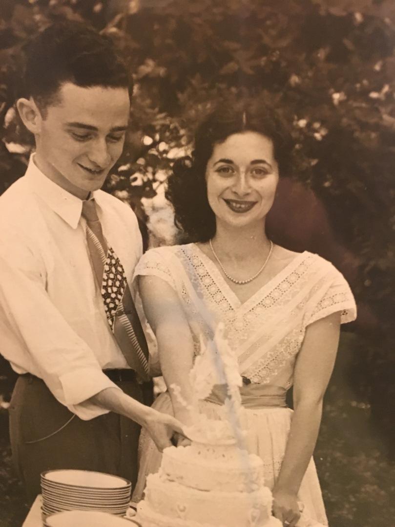 wedding, 1948